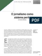 MIGUEL, L. - O jornalismo como sistema perito.pdf
