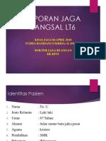 Lapjag Bangsal 4 April anemia