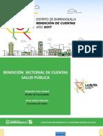 Mortalidad materna, salud infantil y vacunación, con altos estándares de calidad en Barranquilla