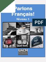 Parlons Francais Niveau 1