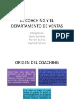 El Coaching y El Departamento de Ventas