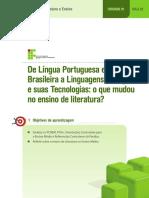 Aula 02 - De Língua Portuguesa e Literatura Brasileira a Linguagens, Códigos e Suas Tecnologias o Que Mudou No Ensino de Literatura
