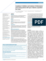 Dipeptidyl Peptidase-4 Inhibitors and Incidence of IBD in Patients With Type 2 Diabetes