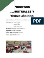 Los Procesos Industriales y La Tecnología[1]