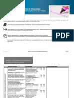 2018 Provider Self-Assessment Check List