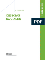 Ciencias Sociales Cuadernos Para El Docente Serie Horizontes