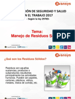 Manejo de Residuos Peligrosos- 21.11.2017