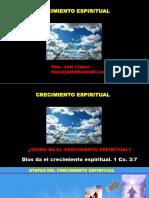 CRECIMIENTO ESPIRITUAL