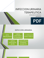 INFECCION URINARIA TERAPEUTICA
