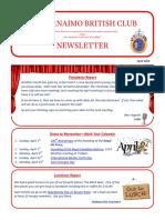 2018 April Newsletter