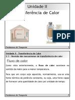 Fenômenos de Transporte - Unidade II - Mecanismos de Transferência de Calor