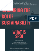 Measuring SROI