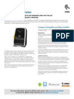 Zq110 Mobile Receipt Printer Product Spec Sheet en Us