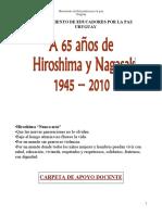 Recordar Hiroshima y Nagasaki