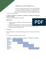 Taller Programa y Plan de Auditoría