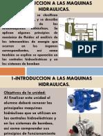 1-Introduccion a Las Maquinas Hidraulicas