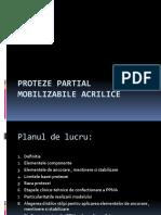 Etapele clinico - tehnice în confecţionarea protezei totale mobilizabile acrilice