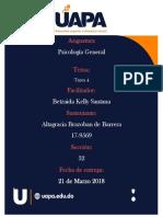 IV Psicologia UAPA General Altagracia