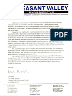 ct reference letter