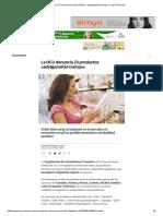 La OCU Denuncia 23 Productos «Adelgazantes Trampa» _ Las Provincias