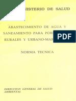 ABASTECMIENTO DE AGUA Y SANEAMIENTO PARA POBLACIONES RURALES Y URBANO-MARGINALES.pdf