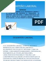 DESEMPEÑO LABORAL
