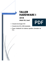 Manual Formateo de Pc Taller i 2018