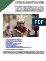 El Quechua Es El Idioma de Los Incas