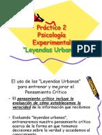 Leyendas Urbanas 2012