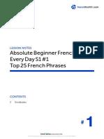 Begginner french