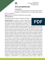 ACTA de Inspección Peces Muertos Río Salado. 13-02-2018