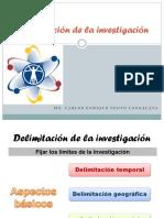 Delimitacic3b3n de La Investigacic3b3n