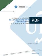 Implementacion RDA en SBD UIB Imprimible