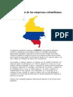 Clasificación de Las Empresas Colombianas (1)