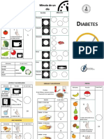 Triptico Diabetes ANALFABETO