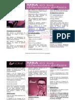 Información Mba 2018