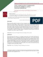 Historia de La Psicología y Formación en Psicología en América Latina