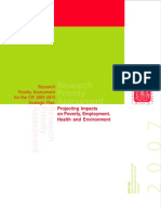 Research priority assessment for the CIP 2005-2015 strategic plan