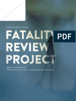 Georgia Domestic Violence - Fatality Review Annual Report 2017