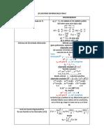 Formulario Ecuaciones Diferenciales Final