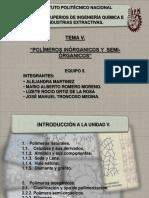 3. Polimeros Inorganicos y Semiorganicos