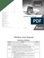 Tp Editor Manual
