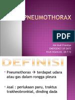 pneumotoraks  2012