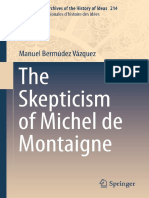 VAZQUEZ - The Skepticism of Michel de Montaigne