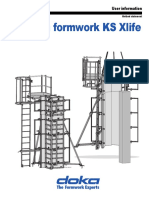 Acrow Column KS Xlife User Guide