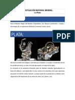 Investigación Mineral Plata