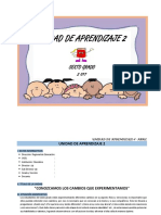UNIDAD DE APRENDIZAJE 6° - ABRIL