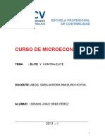 Curso de Microeconomia.