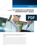 White Paper How to Survive a Chemical Management Audit