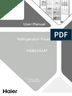 HSBS555AW User Manual